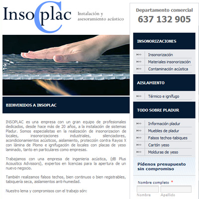Insoplac